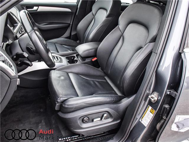 2016 Audi Q5 2.0T Progressiv (Stk: 91470A) in Nepean - Image 10 of 25