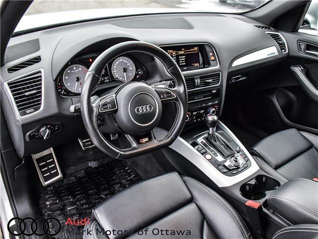 2016 Audi SQ5 3.0T Progressiv (Stk: PM249) in Nepean - Image 9 of 25