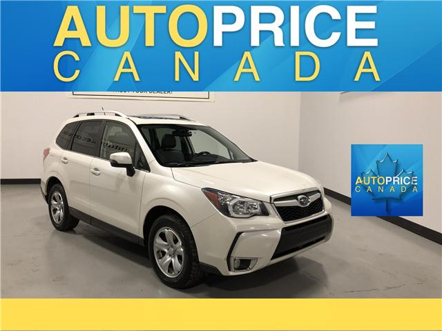 2015 Subaru Forester 2.0XT Limited Package (Stk: W0038) in Mississauga - Image 1 of 28