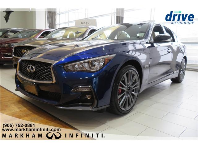 2019 Infiniti Q50 3.0t Red Sport 400 (Stk: K374) in Markham - Image 1 of 15