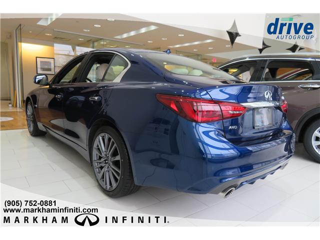 2019 Infiniti Q50 3.0t Red Sport 400 (Stk: K374) in Markham - Image 2 of 15