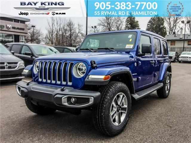 2019 Jeep Wrangler Unlimited Sahara (Stk: 197567) in Hamilton - Image 1 of 24