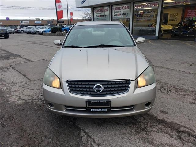 2005 Nissan Altima 2.5s | GS | WHOLESALE PRICE | AS IS | SPECIAL (Stk: P11020A) in Oakville - Image 2 of 24