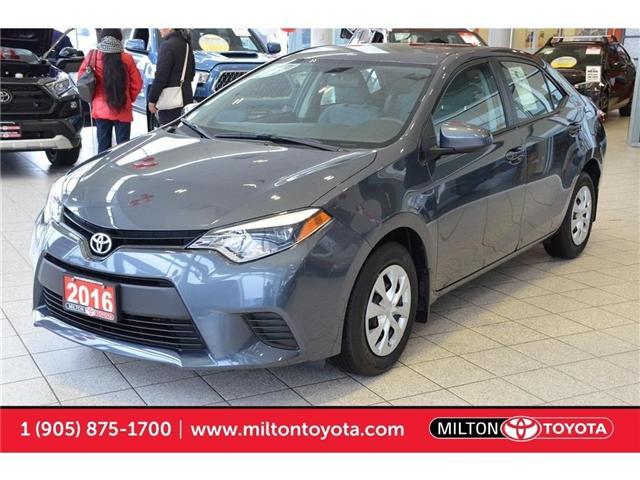 2016 Toyota Corolla  (Stk: 676323) in Milton - Image 1 of 36