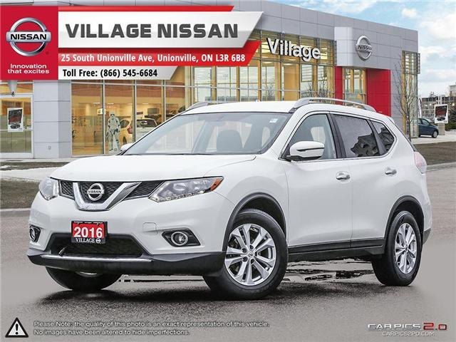 2016 Nissan Rogue SV (Stk: P2723) in Unionville - Image 1 of 27