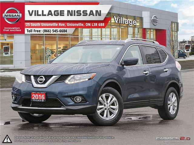 2016 Nissan Rogue SV (Stk: 80861A) in Unionville - Image 1 of 27
