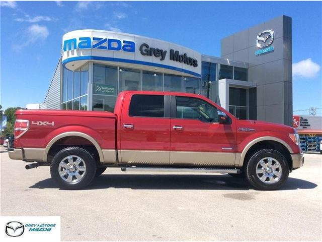 2012 Ford F-150 Lariat (Stk: 18040A) in Owen Sound - Image 1 of 20