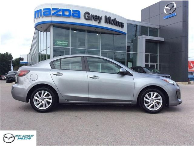 2013 Mazda Mazda3 GX (Stk: 03304P) in Owen Sound - Image 1 of 20