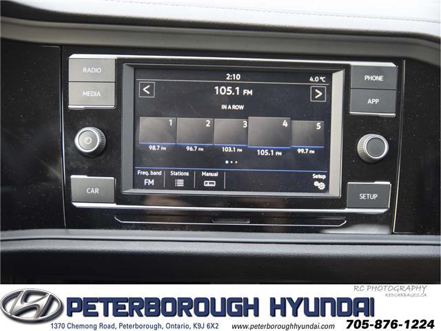 2019 Volkswagen Jetta 1.4 TSI Comfortline (Stk: H11913A) in Peterborough - Image 11 of 16