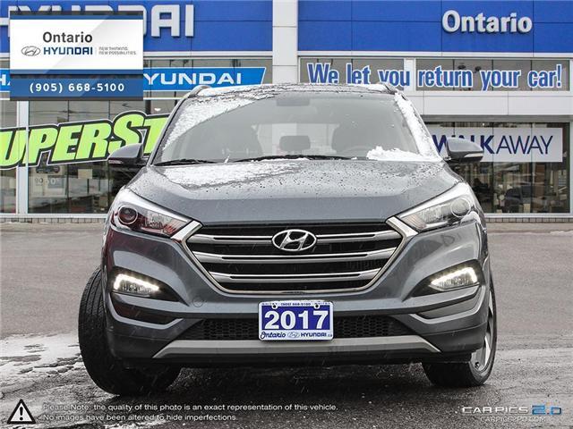 2017 Hyundai Tucson SE 1.6 / AWD (Stk: 10594K) in Whitby - Image 2 of 27