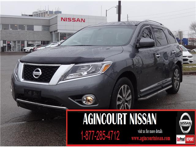 2016 Nissan Pathfinder SL (Stk: JC671989A) in Scarborough - Image 1 of 23