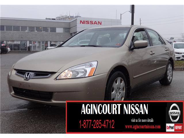 2003 Honda Accord LX-V6 (Stk: JN195375A) in Scarborough - Image 1 of 14