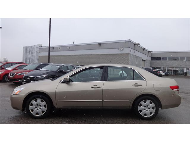 2003 Honda Accord LX-V6 (Stk: JN195375A) in Scarborough - Image 2 of 14