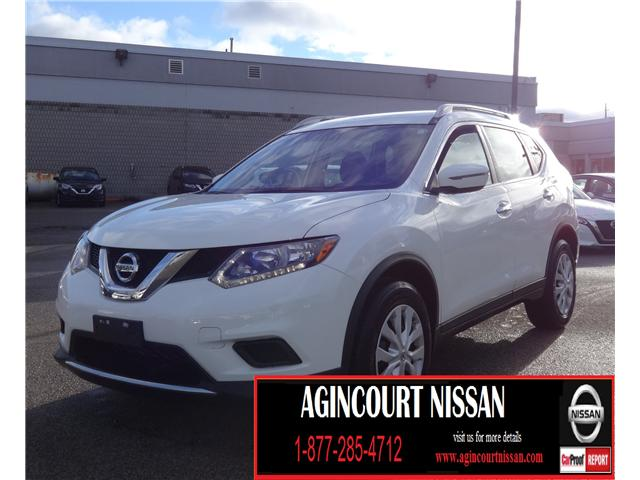 2016 Nissan Rogue S (Stk: U12369) in Scarborough - Image 1 of 17