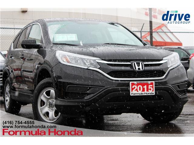 2015 Honda CR-V LX (Stk: 19-0513A) in Scarborough - Image 1 of 27