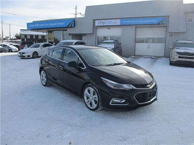 2018 Chevrolet Cruze Premier Auto (Stk: 182097) in Kingston - Image 1 of 12