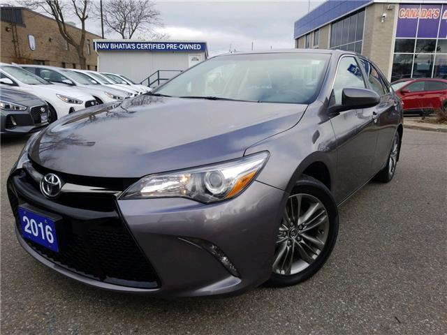 2016 Toyota Camry SE (Stk: op10075) in Mississauga - Image 1 of 12
