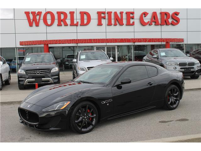 2013 Maserati GranTurismo Sport (Stk: 16621) in Toronto - Image 1 of 21