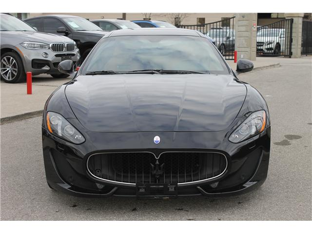 2013 Maserati GranTurismo Sport (Stk: 16621) in Toronto - Image 2 of 21