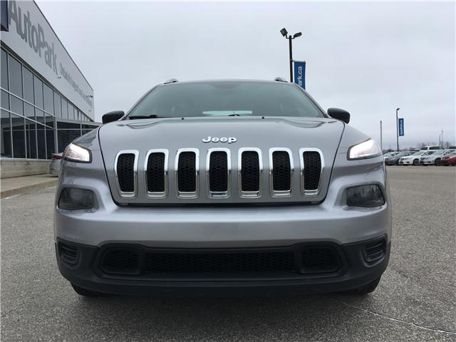 2016 Jeep Cherokee Sport (Stk: 16-31296JB) in Barrie - Image 2 of 26