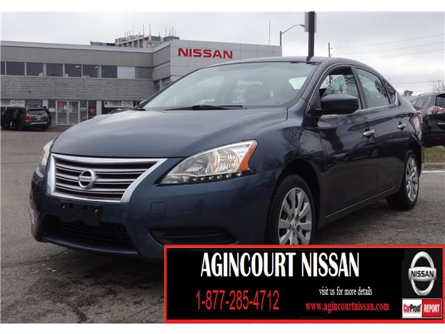 2014 Nissan Sentra 1.8 S (Stk: JY237451A) in Scarborough - Image 1 of 15