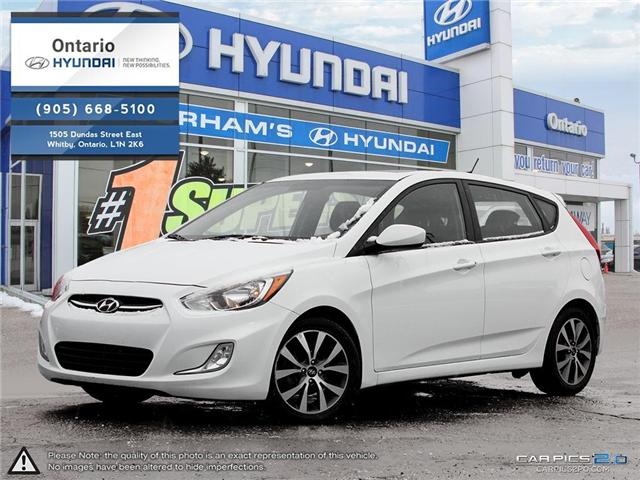 2017 Hyundai Accent SE / Auto (Stk: 31411K) in Whitby - Image 1 of 27