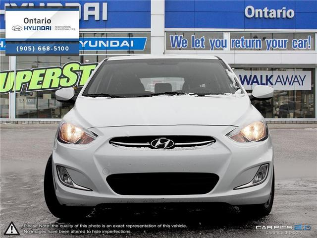 2017 Hyundai Accent SE / Auto (Stk: 31411K) in Whitby - Image 2 of 27