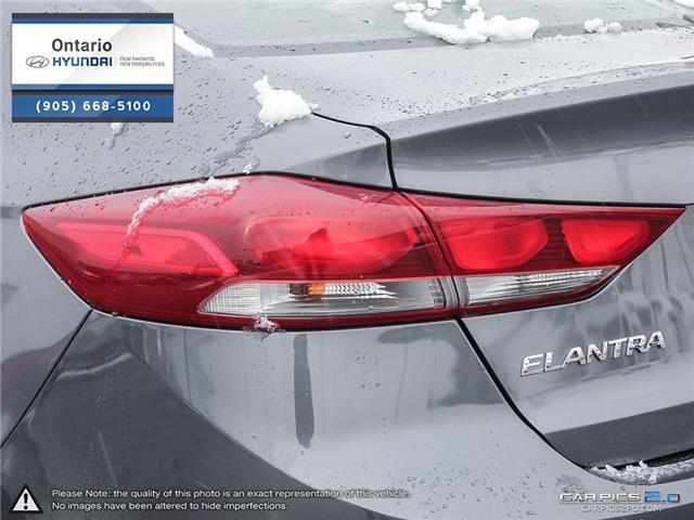 2018 Hyundai Elantra GL / Factory Warranty (Stk: 47809K) in Whitby - Image 12 of 27