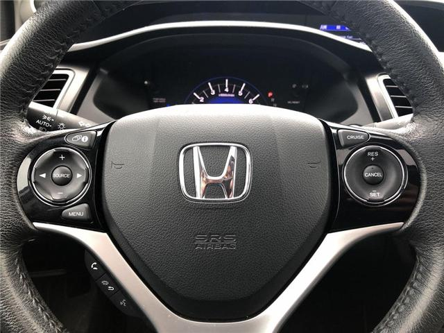 2015 Honda Civic EX (Stk: I190364A) in Mississauga - Image 8 of 12