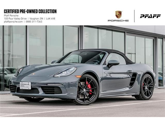2017 Porsche 718 Boxster S PDK (Stk: U7579) in Vaughan - Image 1 of 22