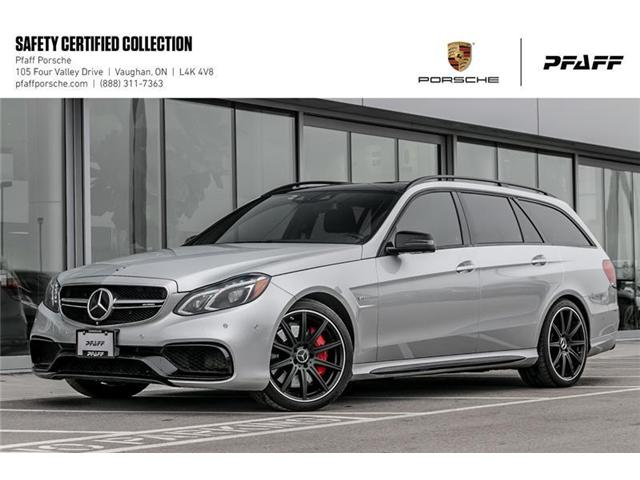 2016 Mercedes-Benz E63 S 4MATIC Wagon (Stk: U7612) in Vaughan - Image 1 of 22