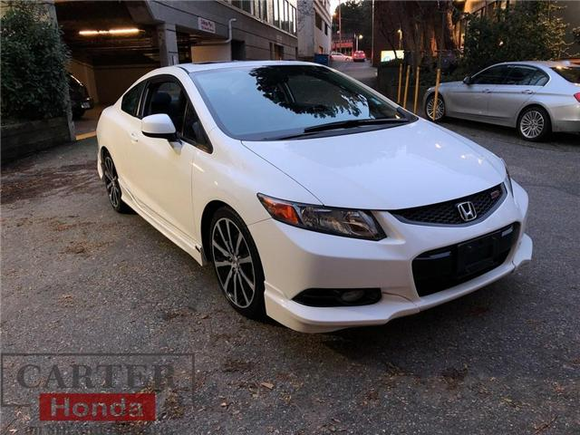 2012 Honda Civic Si (Stk: 4K00821) in Vancouver - Image 1 of 21