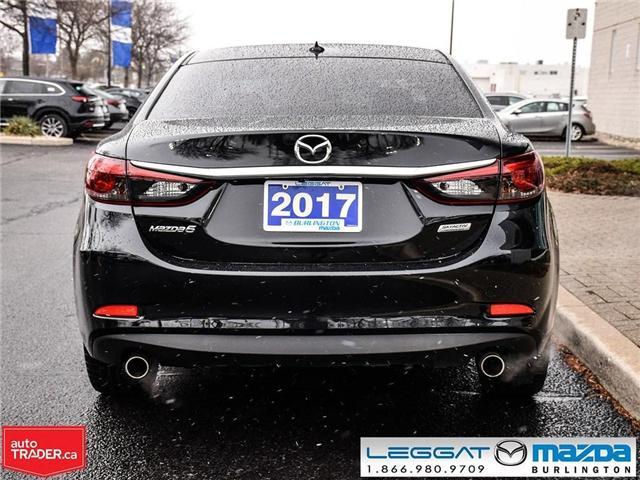 2017 Mazda MAZDA6 GT LEATHER, NAV, BOSE, REAR CAMERA (Stk: 1740) in Burlington - Image 5 of 22