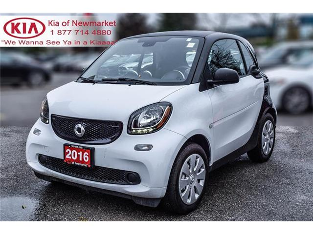 2016 Smart Fortwo Pure (Stk: P0584) in Newmarket - Image 1 of 14