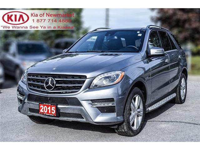 2015 Mercedes-Benz M-Class Base (Stk: P0612) in Newmarket - Image 1 of 22