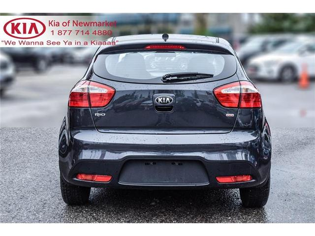 2015 Kia Rio LX+ (Stk: P0624) in Newmarket - Image 6 of 18