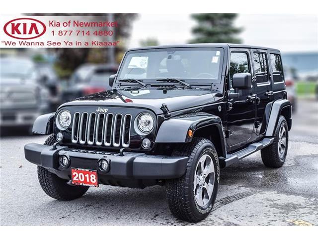2018 Jeep Wrangler JK Unlimited Sahara (Stk: P0678) in Newmarket - Image 1 of 19