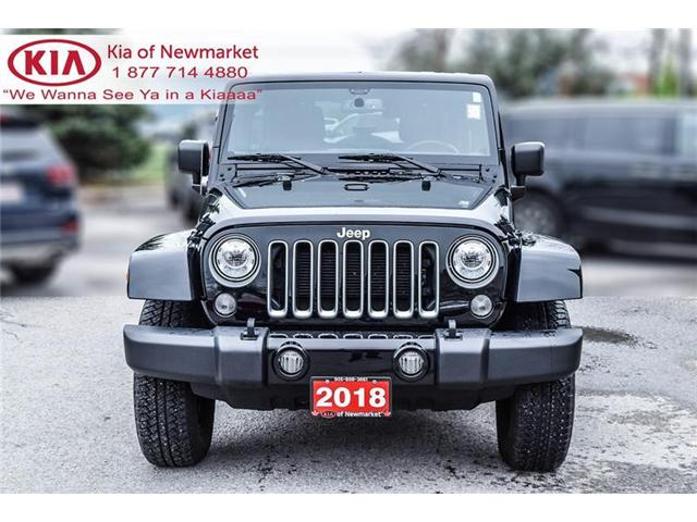 2018 Jeep Wrangler JK Unlimited Sahara (Stk: P0678) in Newmarket - Image 2 of 19