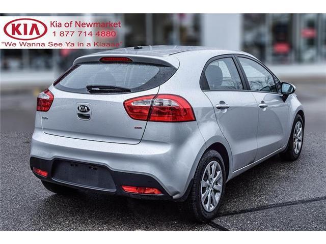 2015 Kia Rio LX+ (Stk: P0691) in Newmarket - Image 5 of 19