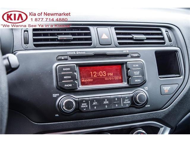 2015 Kia Rio LX+ (Stk: P0691) in Newmarket - Image 14 of 19