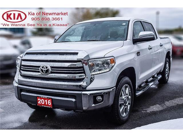 2016 Toyota Tundra Platinum 5.7L V8 (Stk: P0721) in Newmarket - Image 1 of 22