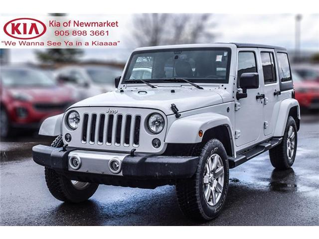 2017 Jeep Wrangler Unlimited Sahara (Stk: P0740) in Newmarket - Image 1 of 17
