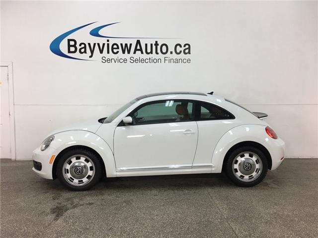 2016 Volkswagen The Beetle 1.8 TSI Classic (Stk: 34181W) in Belleville - Image 1 of 28