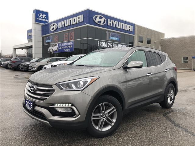 2018 Hyundai Santa Fe Sport 2.4 Premium (Stk: U810) in Clarington - Image 1 of 16