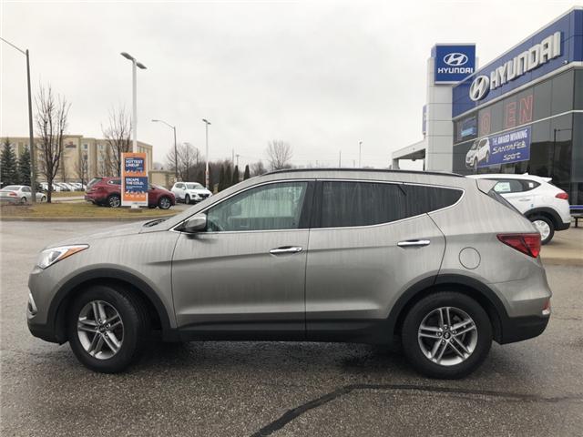 2018 Hyundai Santa Fe Sport 2.4 Premium (Stk: U810) in Clarington - Image 2 of 16