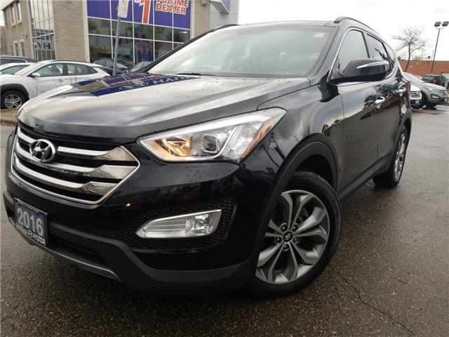 2016 Hyundai Santa Fe Sport 2.0T Limited (Stk: op10081) in Mississauga - Image 1 of 27