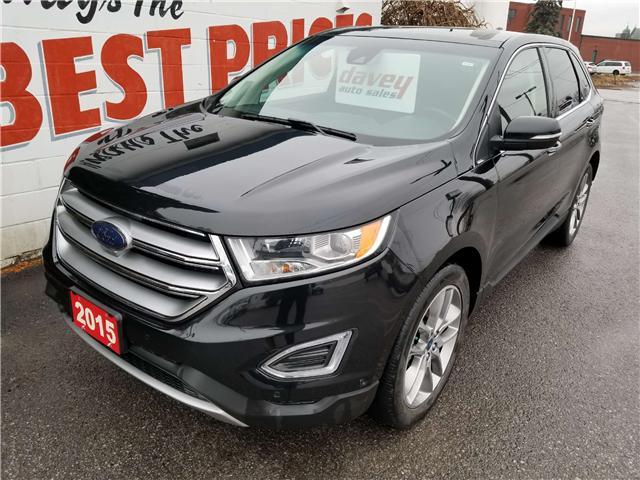 2015 Ford Edge Titanium (Stk: 18-787) in Oshawa - Image 1 of 19