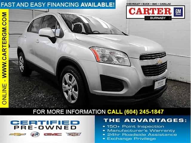 2013 Chevrolet Trax LS (Stk: Q8-95102) in Burnaby - Image 1 of 23
