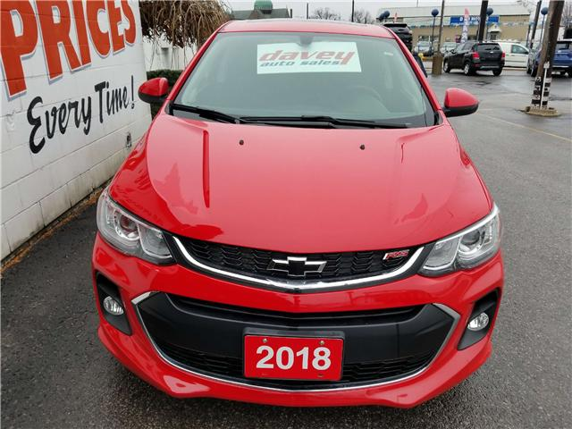 2018 Chevrolet Sonic LT Auto (Stk: 18-813) in Oshawa - Image 2 of 17