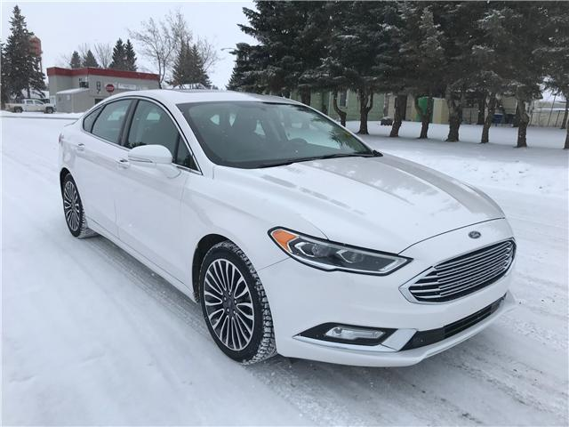 2017 Ford Fusion SE (Stk: U18-102) in Nipawin - Image 1 of 28